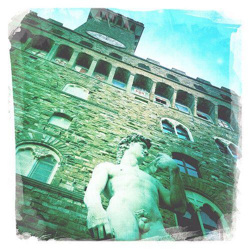 palazzo vecchio . florence. david