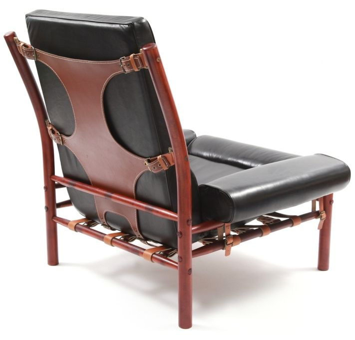 View This Item And Discover Similar Lounge Chairs For Sale At   Stunning  Arne Norell Leather Lounge Chair And Ottoman, Circa Late This Example Has  Chocolate ...
