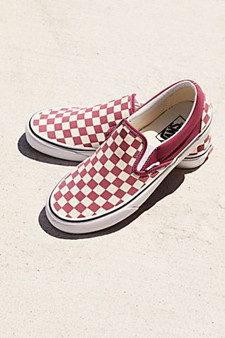 new york daa89 44760 Classic Checkered Slip-On from Free People!