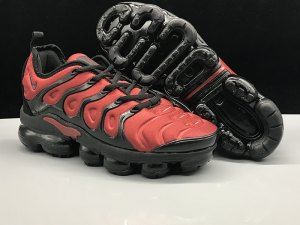 3a026cc57c Nike Air Vapormax Plus TN October Red Black Men's Women's Running Shoes