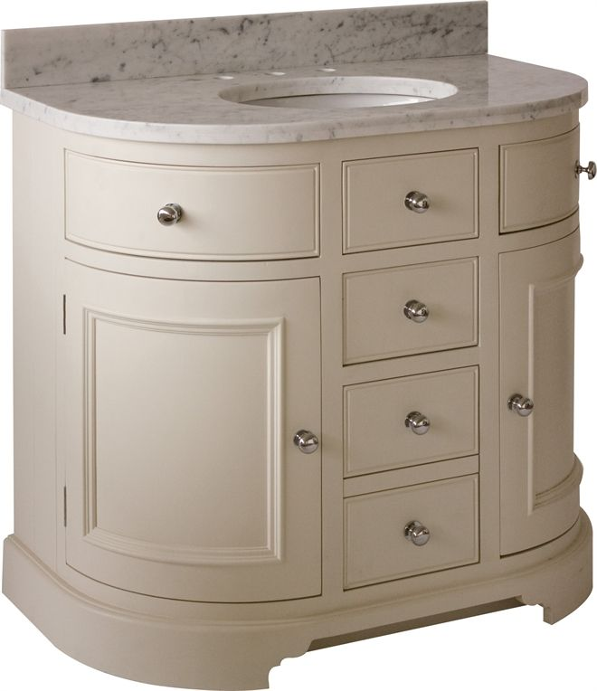 Neptune Bathroom Washstands Chichester 960mm Undermount
