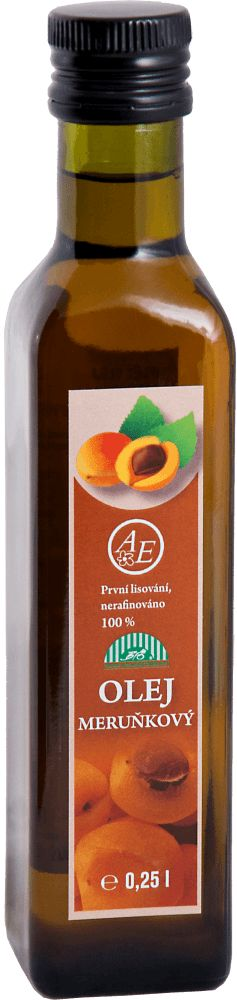 Meruňkový olej BIO | AGRO-EL Znojmo