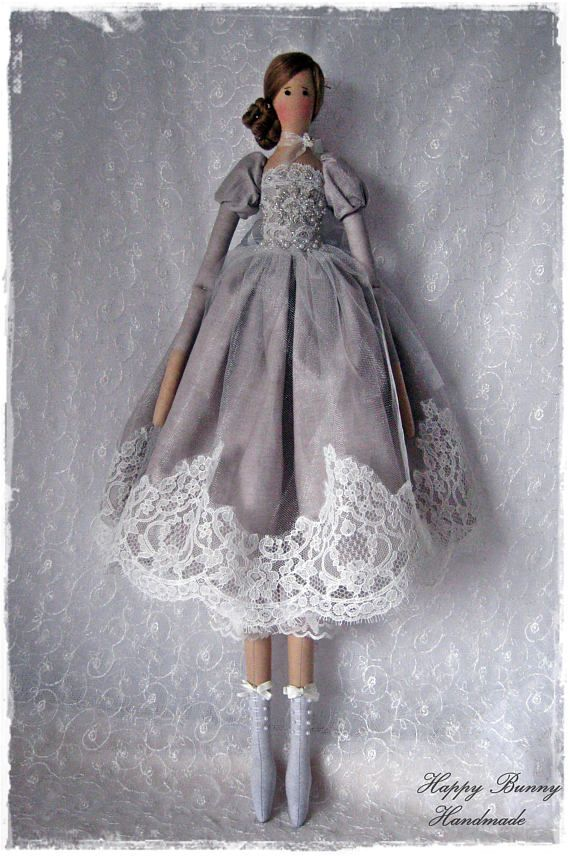 Tilda doll Textile doll Romatic Tilda doll Handmade doll