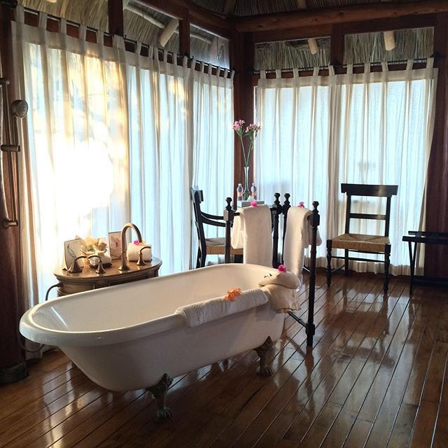 Most romantic trip I've ever been on!!! Hotelito Mio - Cabo Corrientes, Mexico #bathtub #bathroom