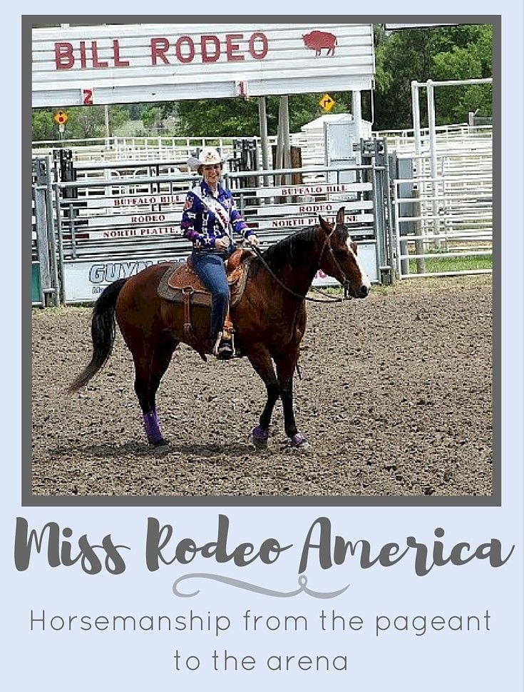 From the Queen's Saddle: Miss Rodeo America 2016 Katherine Merck shares her experience in horsemanship from the pageant to the arena.