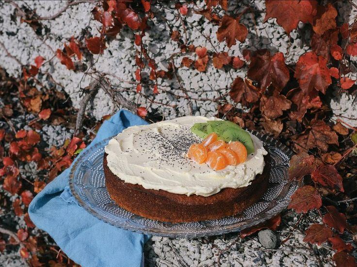 Kiwifruit, Ginger and Honey Cake Recipe - Try this deliciously scented cake by Eleanor Ozich of Petite Kitchen