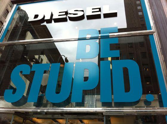 Diesel Store, la boutique de New York City