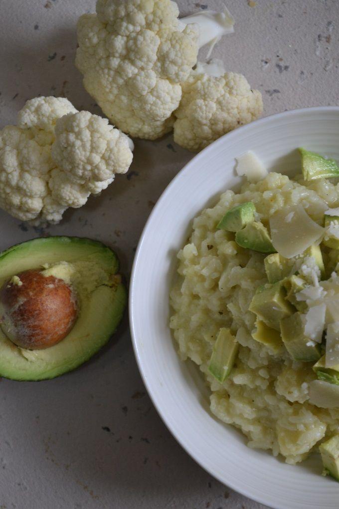 Blumenkohlrisotto mit Avocado (2)
