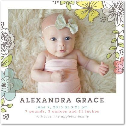 45 best Pregnancy Birth Announcement images – Birth Announcement Pinterest