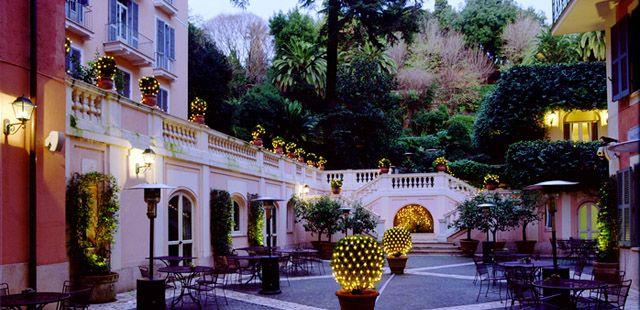 Hotel de Russie Rome sur Tablet Hotels