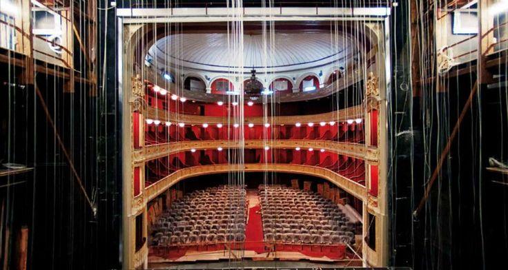 Το Δημοτικό Θέατρο Πειραιά στα ροζ -Instagram διαγωνισμός
