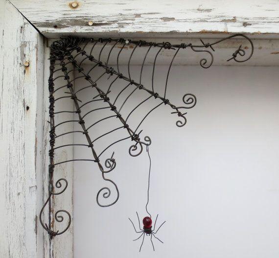 L'araignée rouge tchécoslovaque se balance de 12 fil de fer