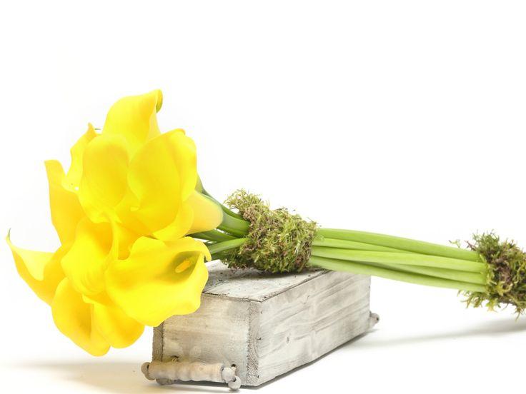 Lenyűgöző trópusi calla csokor    #flowers#bouquet#viragszoro#viragszoroviragkuldes#yellow#calla