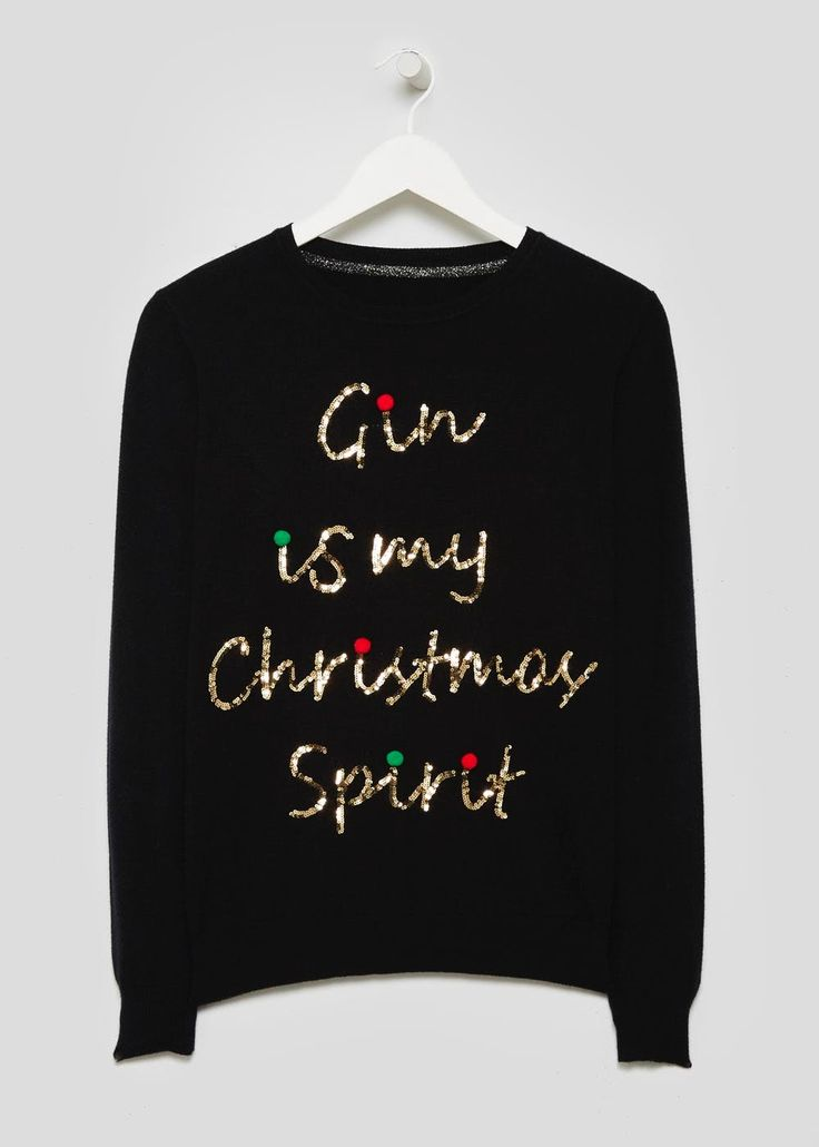 Gin Novelty Christmas Jumper