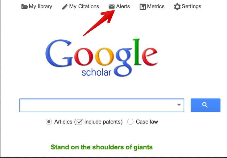 Two Things Every Student Should Know about Google Scholar ~ Educational Technology and Mobile Learning