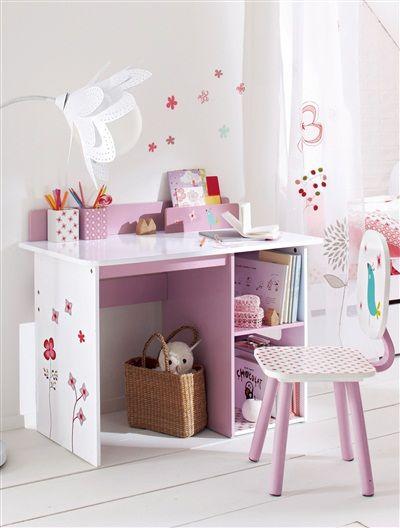 dieser wundersch ne kinderschreibtisch von vertbaudet mit. Black Bedroom Furniture Sets. Home Design Ideas