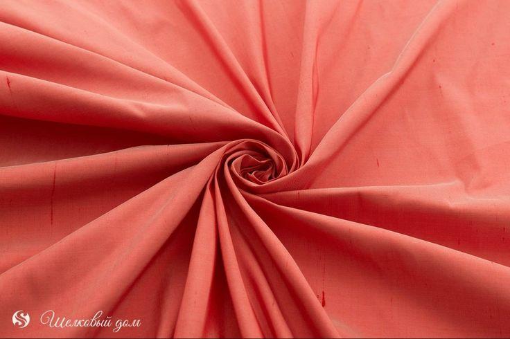 """Morning Glory : Красно-розовый шелк """"припудренный"""""""