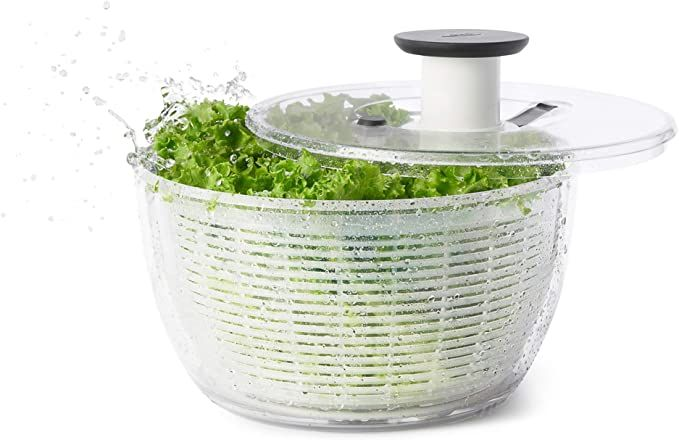 Amazon Com Oxo Good Grips Salad Spinner Large Kitchen Dining In 2020 Salad Spinner Best Salad Spinner Salad Spinners
