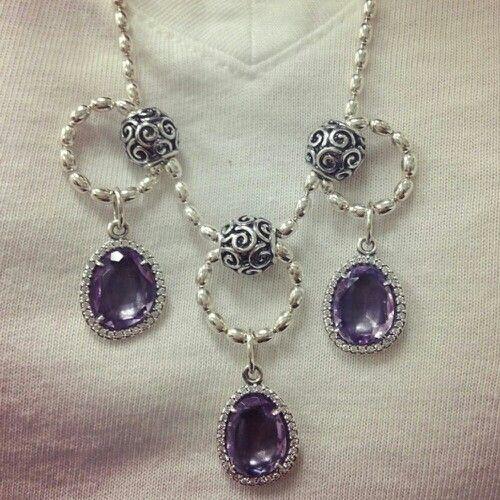 Cool Necklace Design Idea With Pandora