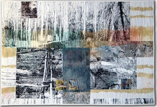 Sandra Meech Using colours on chosen areas enhances them and creates areas of focus. Different papers to create layers of drawings.
