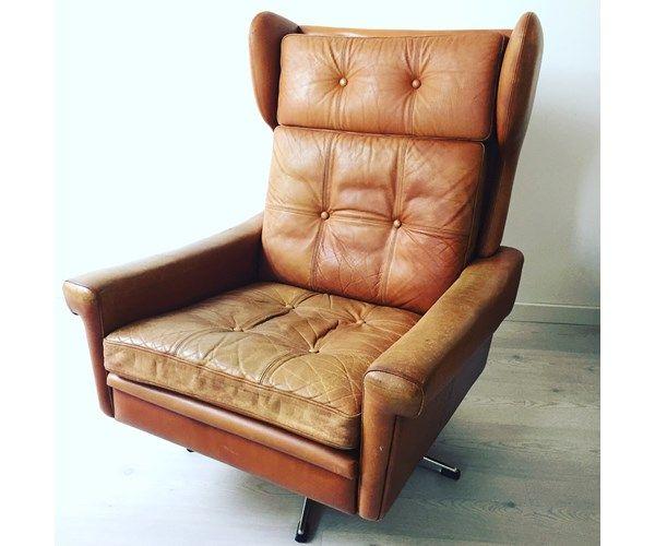 Anden arkitekt, Læne stol - dansk design fra Skippers