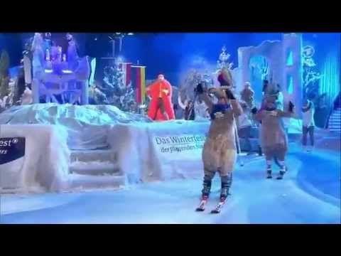 Ski-Fliegerlied beim Winterfest der fliegenden Stars