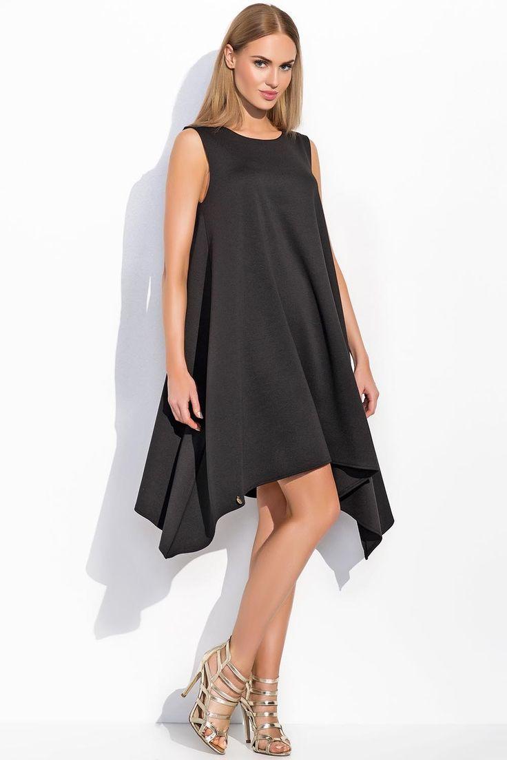 Sukienka Makadamia M285 - czarny