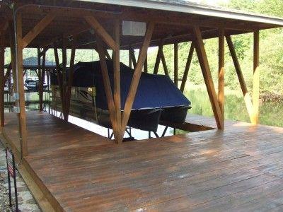 Covered Boat Docks Plans