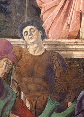 """Piero Della Francesca: """"Certainly many painters who do not use perspective have also been the object of praise; however, they were praised with faulty judgement by men with no knowledge of the value of this art."""""""