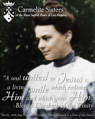 ~Bl Elizabeth of the Trinity quote
