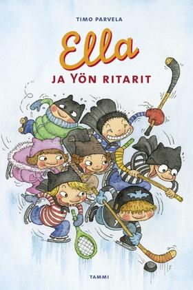 Sarjan viidennessätoista kirjassa Ella ja kaverit perustavat jääkiekkojoukkueen, hankkivat sponsorin, käyvät pelaajamarkkinoilla ja takovat uudelleen opettajansa legendaarisen jääkiekkomailan: Piiskatykin.