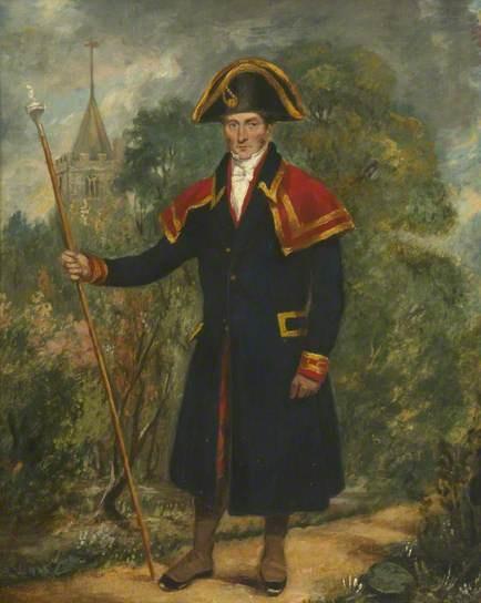 Samuel Bowstead, Parish Beadle  Fulham Palace Art Collection