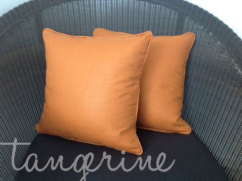Warm, vibrant and very stylish. These cushions look fabulous in darker, cozy areas and feel wonderful with their glazed cotton/linen combo.  Discount applies if you buy a pair! http://www.homesteadrange.co.nz