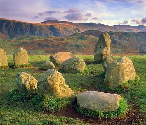 Castlerigg Stones-Keswick,England