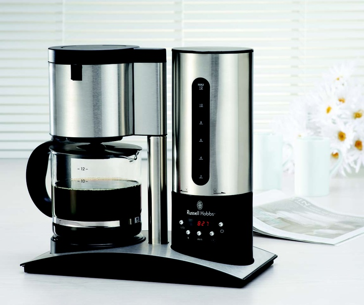 THE SUPPLY SHOPPE - Product - 10968S RUSSELL HOBBS DIGITAL COFFEE MAKER