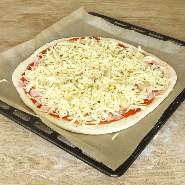 Lindas suveräna pizzadeg