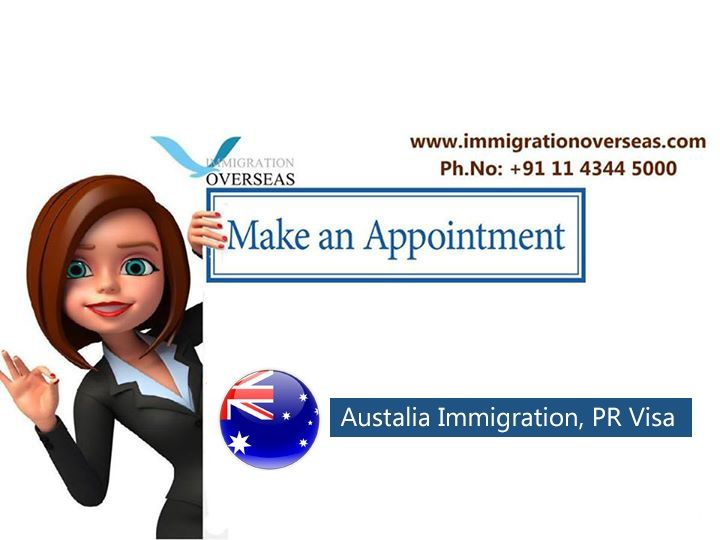 Make an #Appointment For Australia,#immigration #PR #Visa! Please schedule for your Appointment