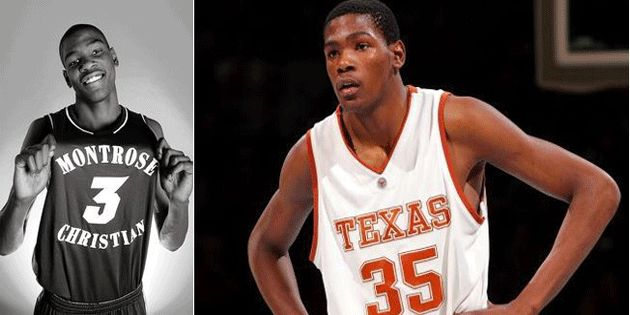 Throwback, Kevin Durant In High School And College Days