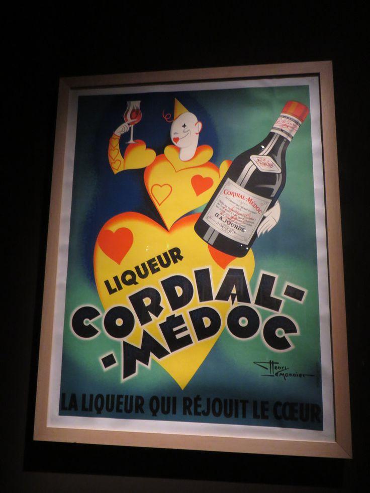 """""""Cordial Médoc"""", Bordeaux au XXe siècle, Musée d'Aquitaine, cours Pasteur, Bordeaux, Gironde, Aquitaine, France."""