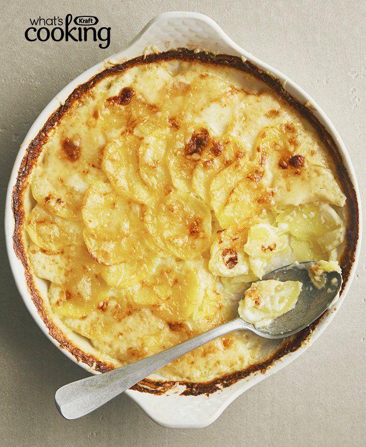 Classic Cheesy Potato Gratin #recipe