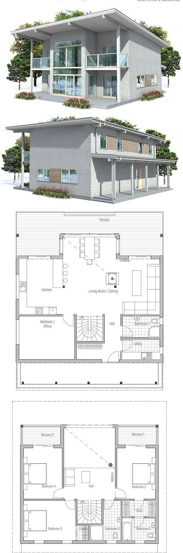 Best 25 Modern House Floor Plans Ideas On Pinterest Modern