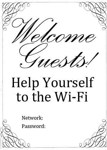 Wifi-Password                                                                                                                                                     More