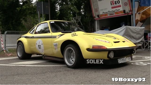 matin symphony ce 1972 steinmetz opel gt group 4 racer tearing up a hillclimb is awesome. Black Bedroom Furniture Sets. Home Design Ideas