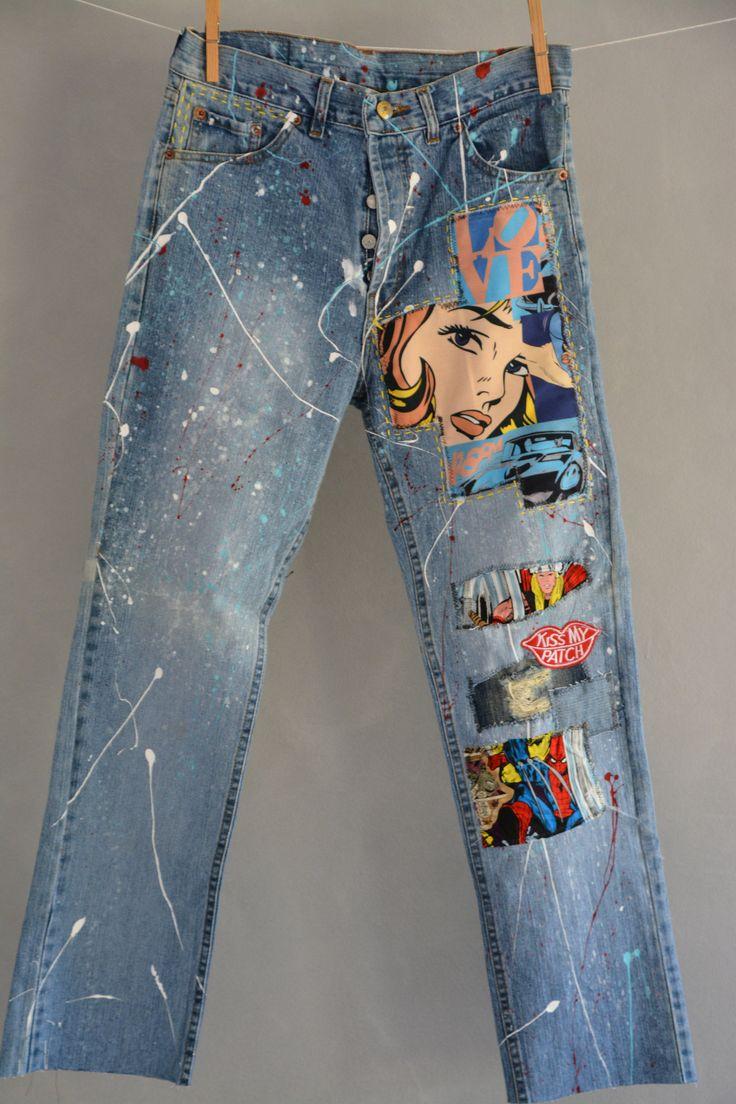 Levis 501 Vintage High Waist Denim Jeans Medium Blue Wash Authentic Gift Womens Straight Leg 25 26 27 28 29 30 31 32 33 34 35 36 Mom Jeans 2