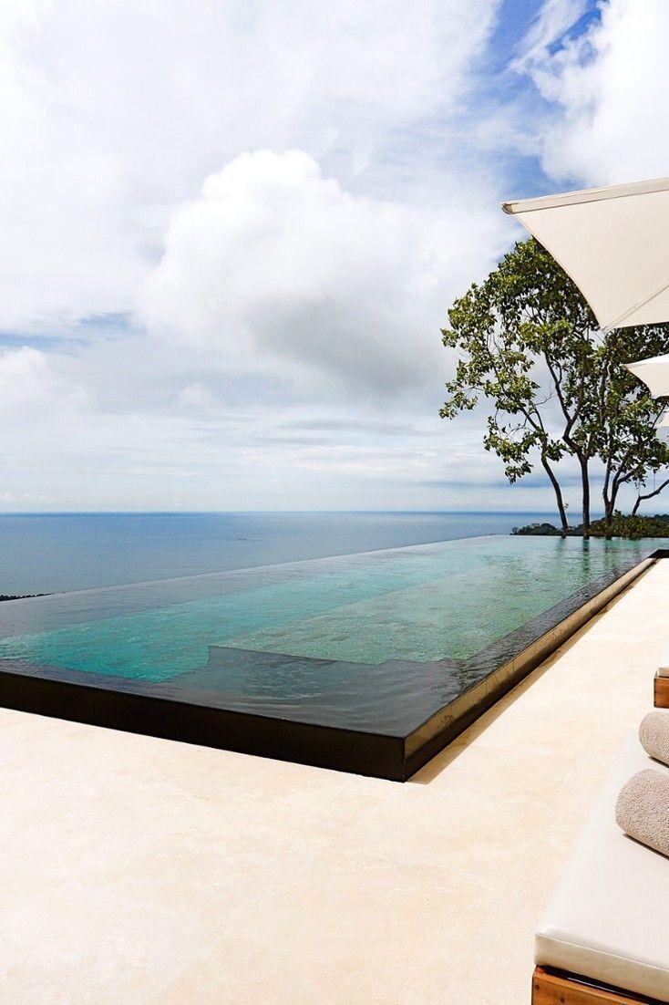 COCOON pool design inspiration bycocoon.com | infinity | exterior design | villa design | hotel design | bathroom design | renovations | wellness | design products for easy living | Dutch Designer Brand COCOON #HotelExteriorDesign