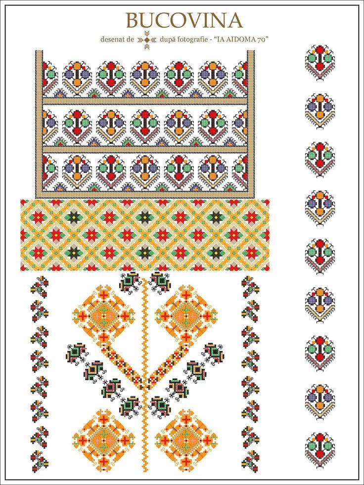 Semne Cusute: IA AIDOMA 70 = Bucovina, ROMANIA