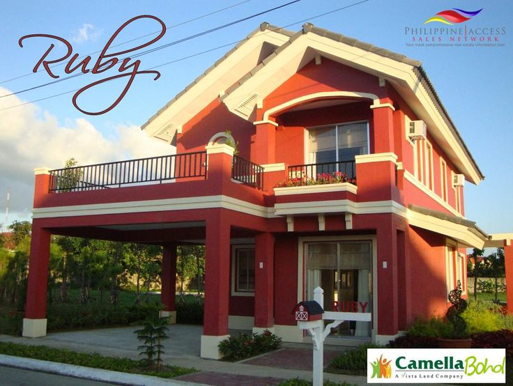 Marvel At The Grandeur Of The Ruby Model Of Camella Homes   Bohol.