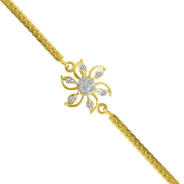 Jpearls Golden Rakhi With Stones  #rakshabandhan #jewellery #rakhigifts #rakhis #brother