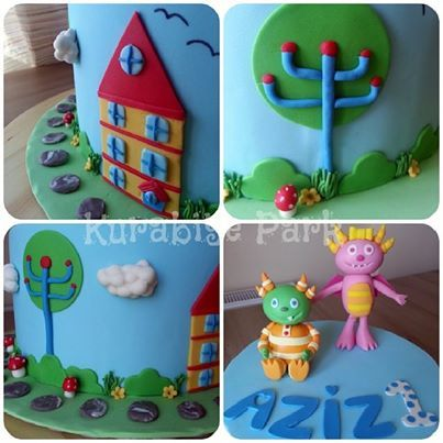 Details of Hugglemonsters Cake