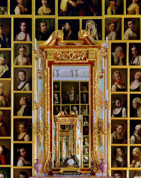 Andrew Moore  (American, b.1957).  Rotari Gallery, Peterhof, Grand Palace, St. Petersburg, Russia, 2000